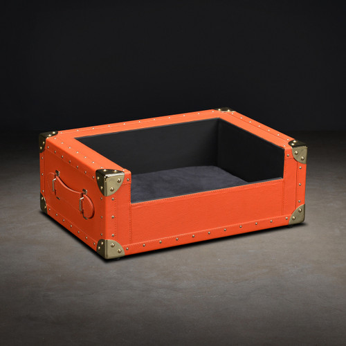 The Trunk Bed - Yorkshire (many colors, Faux Leather, Small)