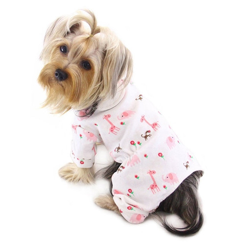 Jungle Animal Dog Pajamas