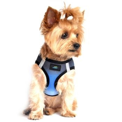 Choke Free Ombre Mesh Dog Harness - Midnight Sky