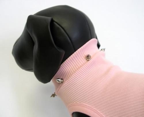 Pink Spike Dog Tank