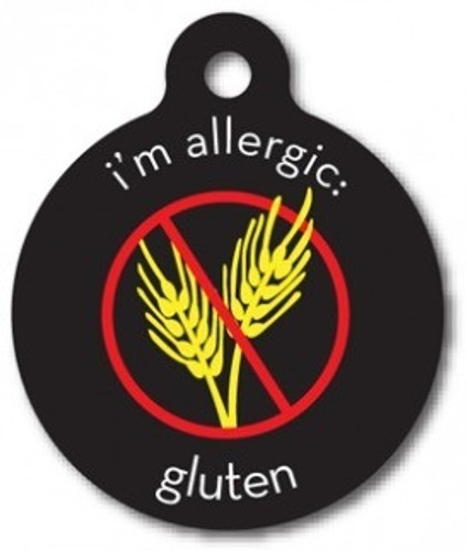 Gluten Allergy Medical Alert Dog ID Tag
