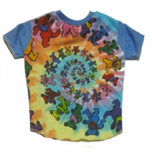 Grateful Dead Dancing Bears Dog Tee