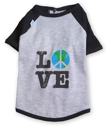 Love Raglan Dog Tee