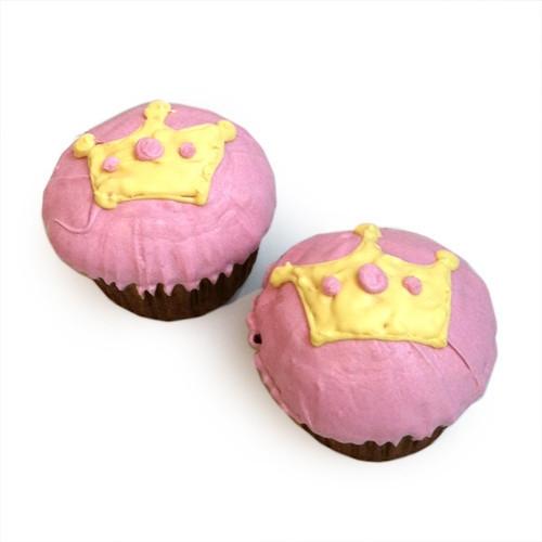 Pink Princess Cupcakes (set of 6)