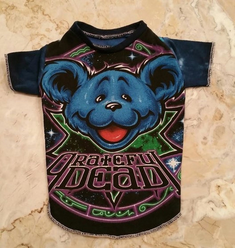 Grateful Dead Zodiac Bear Dog Tee