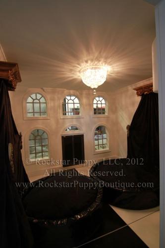 Glam Limestone Dog House