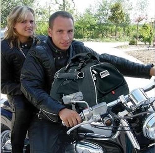jet set dog motorcycle carrier