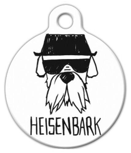 Heisenbark Dog ID Tag