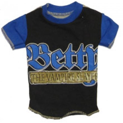 Betty Boop Vampire Slayer Dog Tee