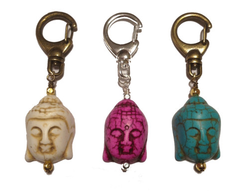 Buddha Dog Collar Charm