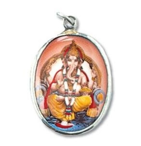 Ganesh Dog Collar Charm