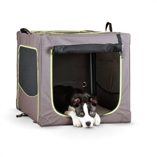 Soft Collapsible Dog Crate for Home or Travel