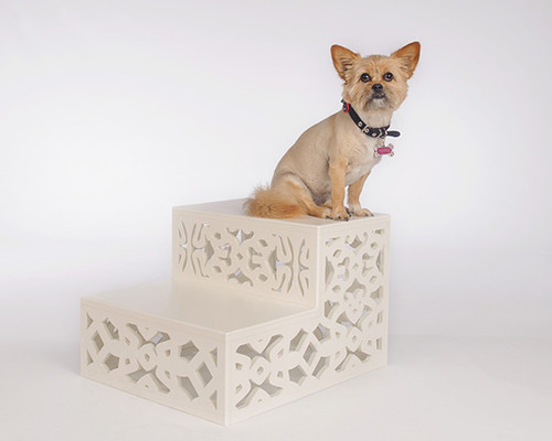 luxury dog steps