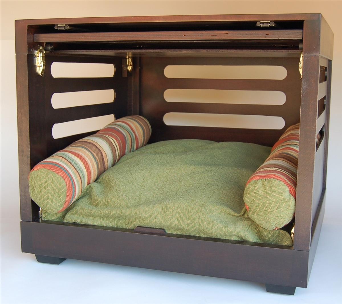 designer dog crate  custom dog crate  luxury dog furniture - designer dog crate