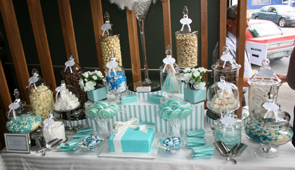 Tiffany Inspired Candy Buffet Little Dance All Things