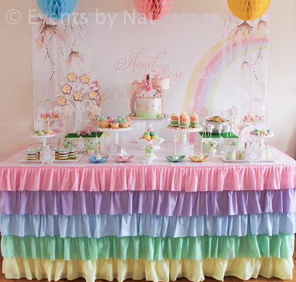Pastel Rainbow Fairy Party Little Dance All Things