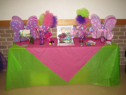 Magical Tinkerbell Birthday Party Little Dance All