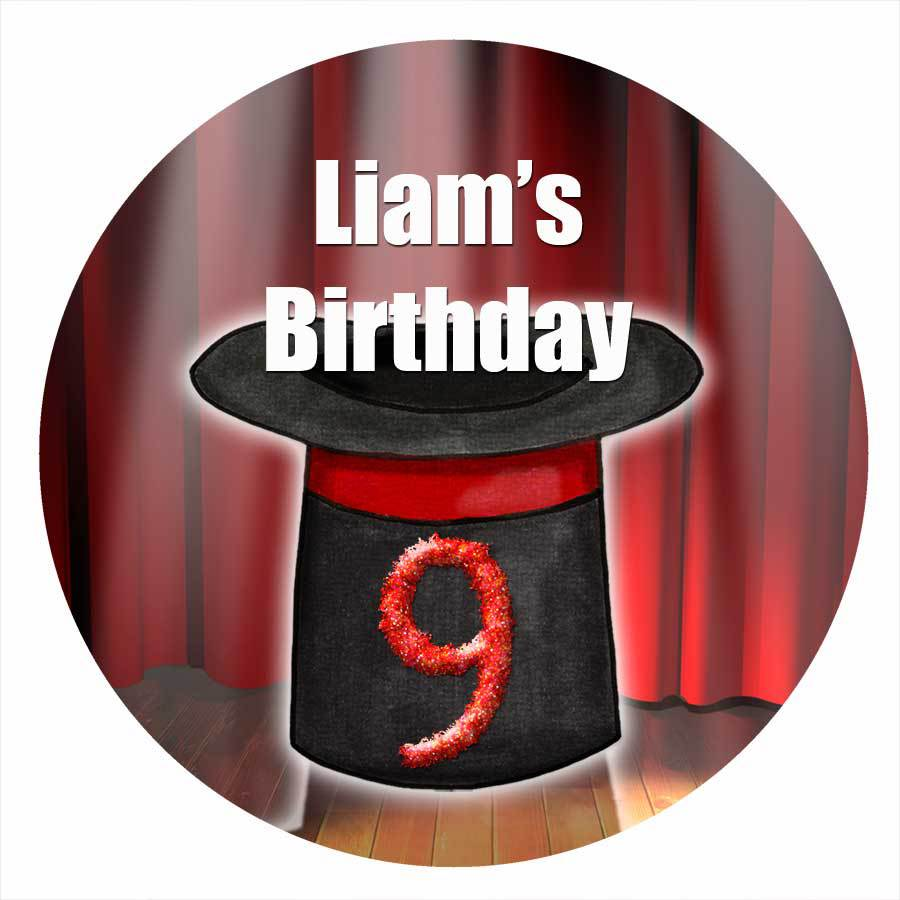 round-edible-image-for-a-kids-birthday-party-magician-theme.jpg