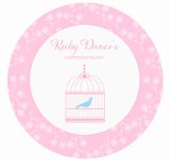 Bird Cage Cake, Cupcake & Cookie Edible Image Icing