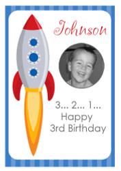 Space Rocket Birthday Cake Icing