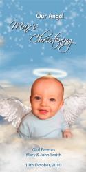 Blue Angel Baptism & Christening Ceremony Candles