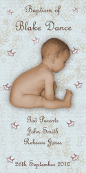 Star Baptism & Christening Ceremony Candles