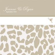 Leopard Print Wedding Invitations