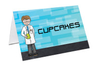 Science Party Personalised Place Cards, Name Cards, Buffet & Lolly jar cards