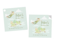 Peter Pan Neverland Party Personalised Party Stickers, Labels and Tags.