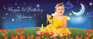 Night Garden Personalised Birthday Party Banner