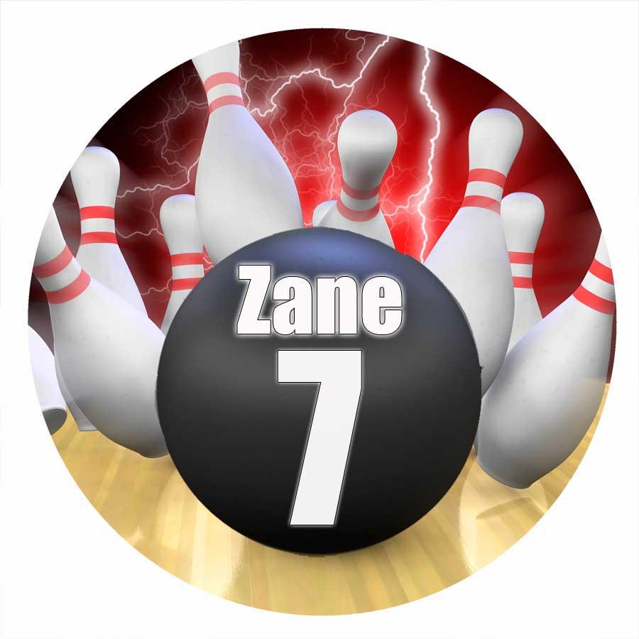Ten Pin Bowling Cake Toppers