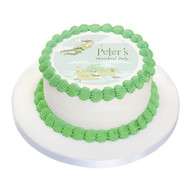Peter Pan Neverland Party Personalised Birthday Cake Icing.