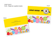 Yellow Minion Inspired Personalised Party Lollybags & Favour Bags.