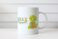Gifts - Personalised Mug - Baby Dino