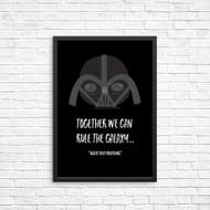 Darth Vader Star Wars We Can Rule the Galaxy Wall art Print