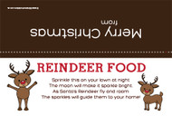 Christmas Bag Topper - Reindeer Food