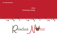 Christmas themed party gift bag toppers - Rudolph reindeer noses. Australian website