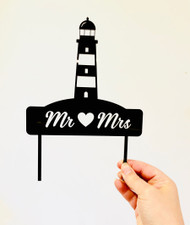 Light House Wedding Cake Topper