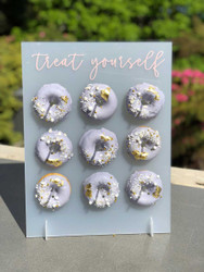 Treat Yourself Donut display stand
