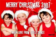 Personalised photo Festive Seasons Greetings card for sale online