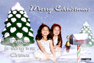Cheap Christmas cards made online using photos