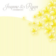 Frangipani Wedding Invitations