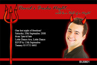 Devils Night Out Bucks Night Party Invitations