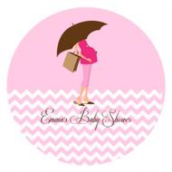 Pink Mum to Be Edible Cookie, Cupcake & Cake Icing